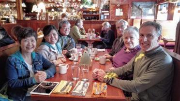 オレゴンドライブ旅行-ニューポートのレストランにて-i