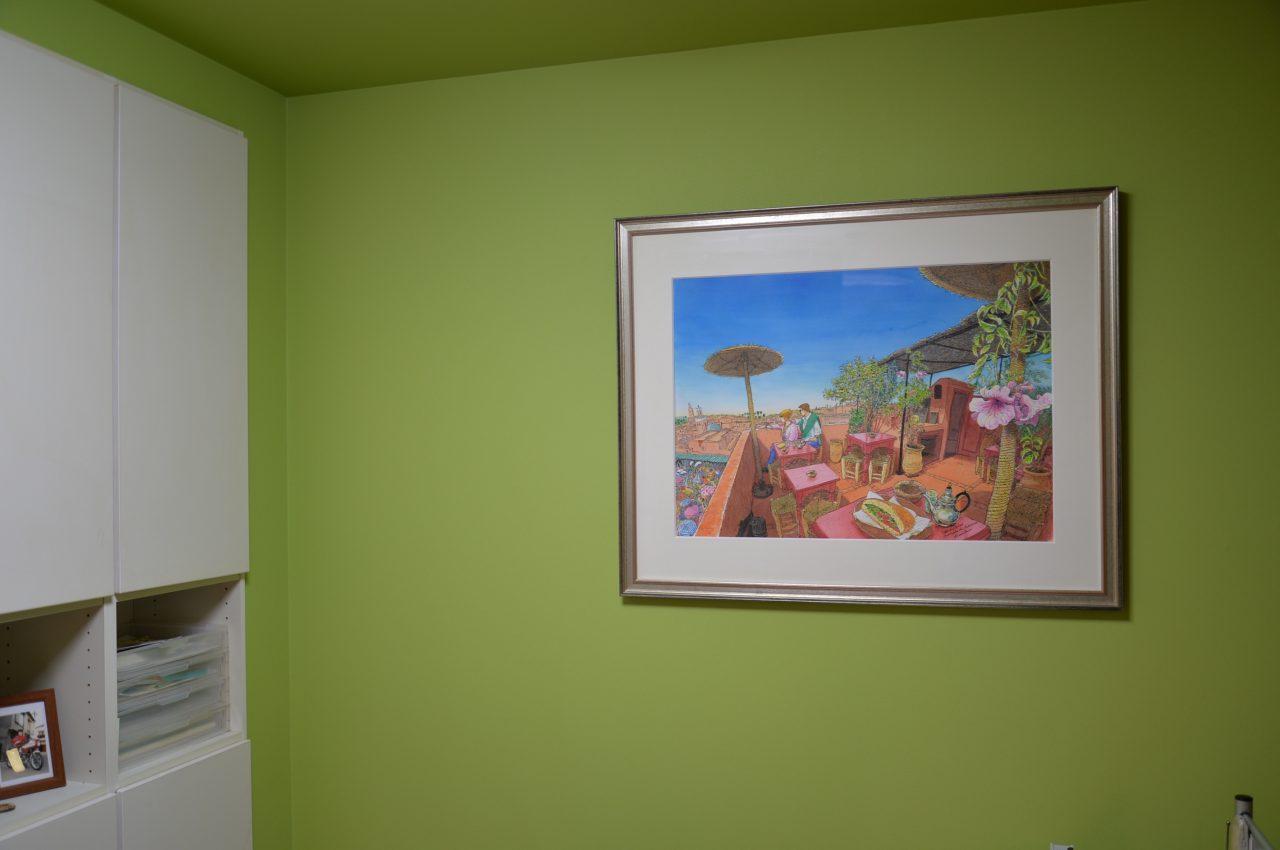 「リタとリモの家」を飾る前