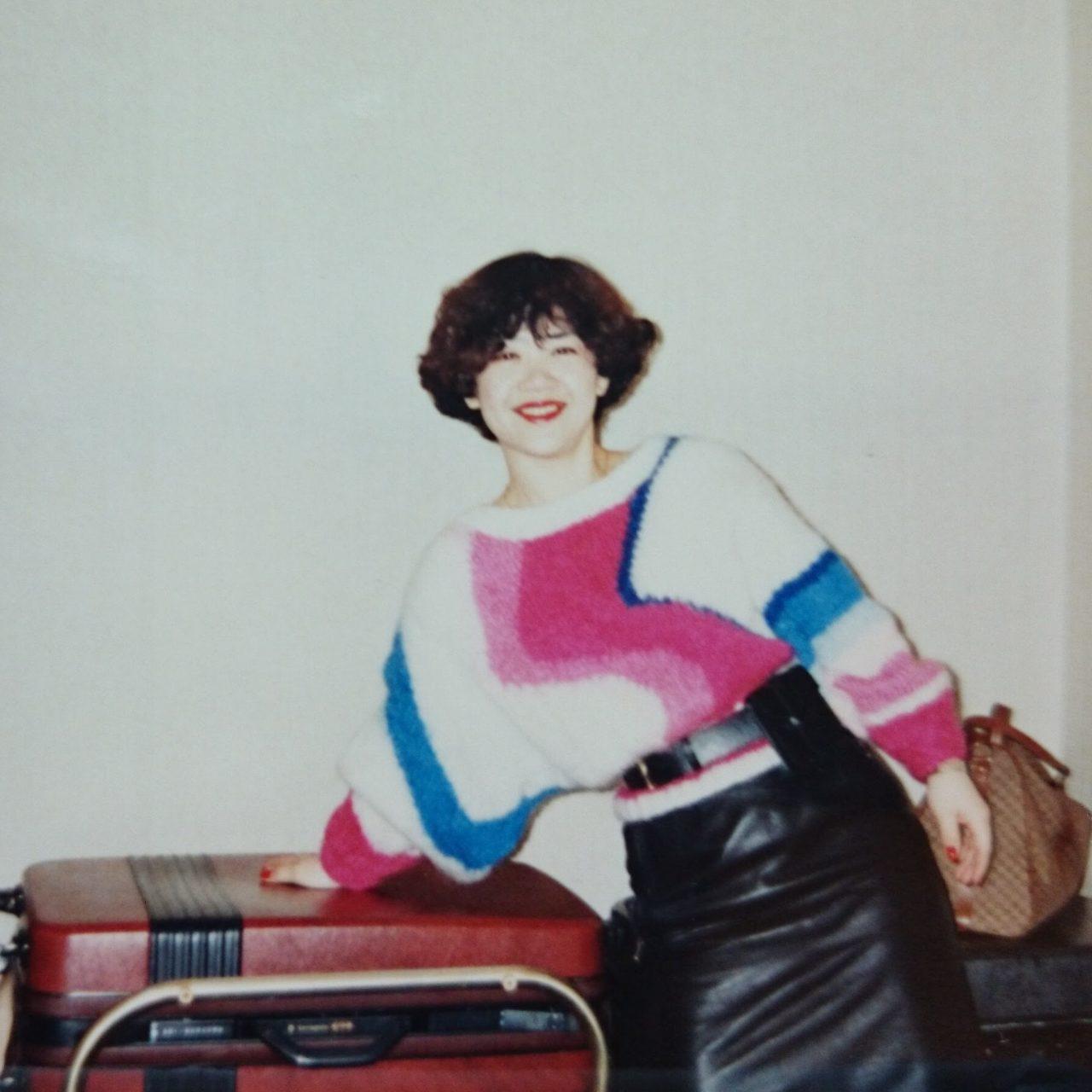 30年前の自作セーター