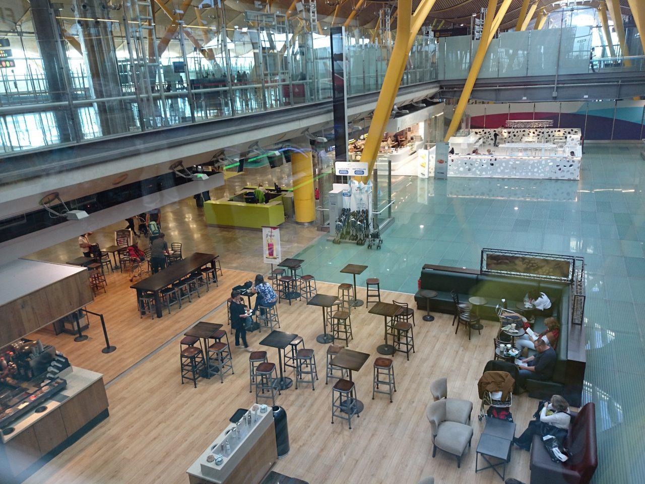 マドリッドのバラハス空港