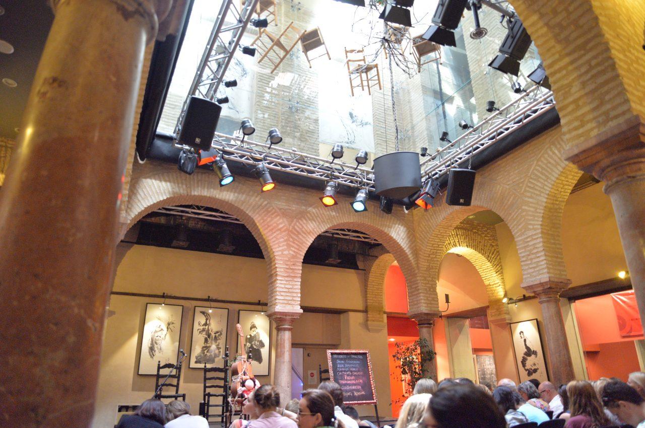 フラメンコ博物館のステージ-IMG_9540