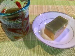 お土産の「青柚の香」