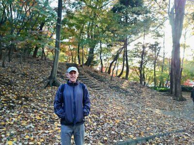 箱根山のポール