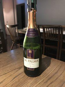 チリ産のスパークリングワインLA PALMA