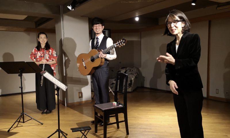 若菜(フルート)&力(ギター)@下北沢アレイホール-3