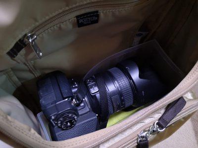100均のファイルスタンドでリュック内に一眼レフカメラを収納-4