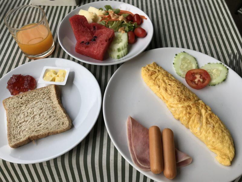 グランド・ウィパナンの朝食