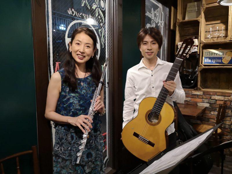 立住若菜(フルート)&萩野谷英成(ギター)-4