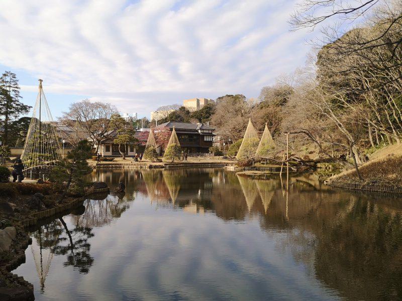 肥後細川庭園の景観
