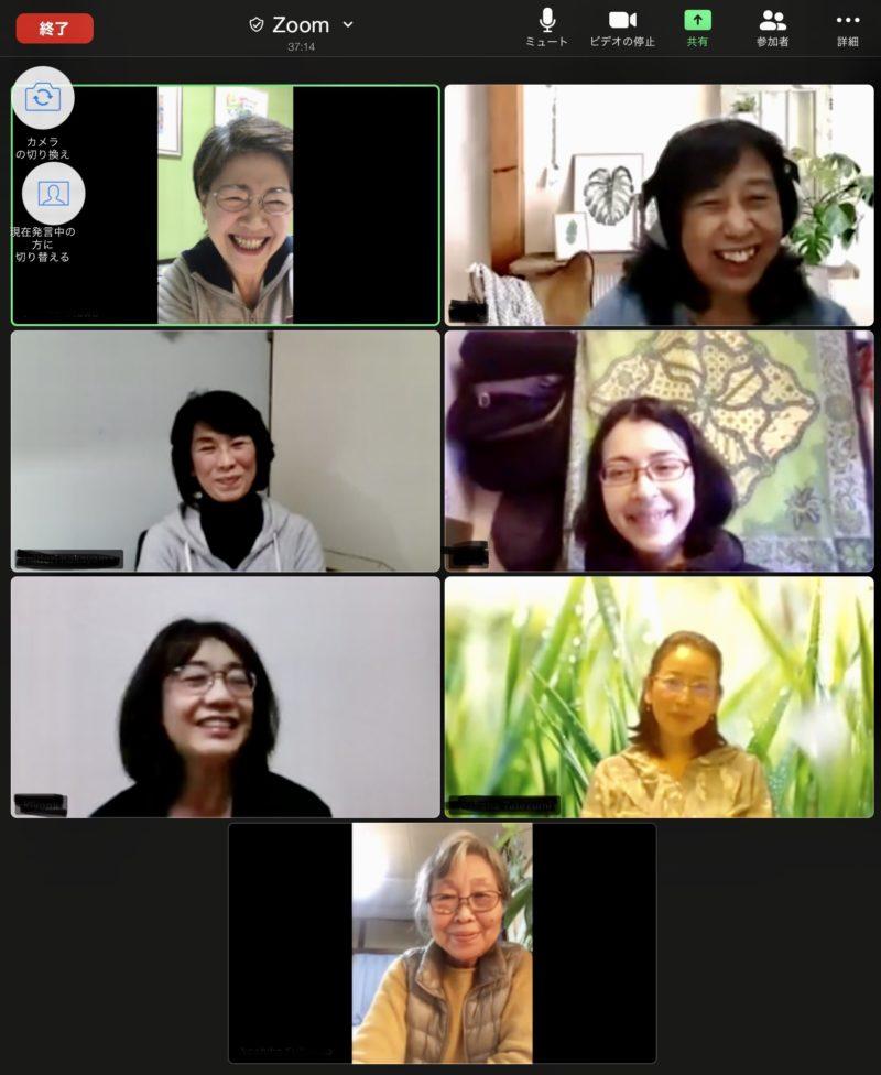 5月21日webサロン参加者
